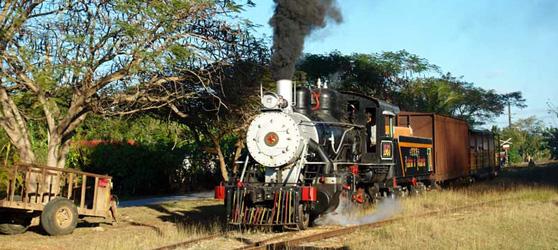 Railway Museum Moron Cuba